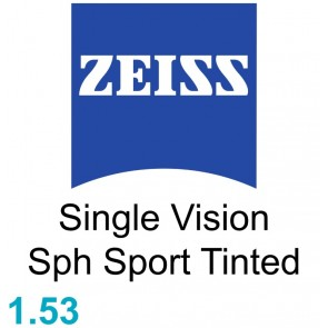 Zeiss Single Vision Sph Sport 1.53 Tinted