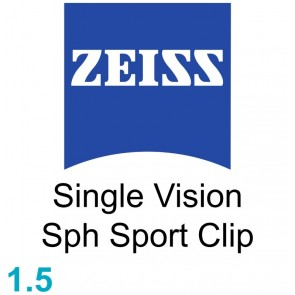 Zeiss Single Vision Sph Sport Clip 1.5