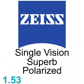 Zeiss Single Vision Superb 1.53 Polarized