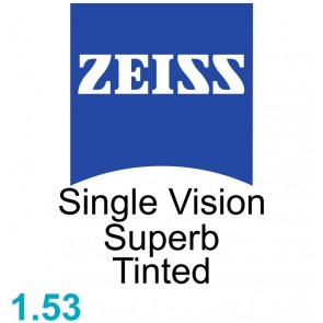 Zeiss Single Vision Superb 1.53 Tinted