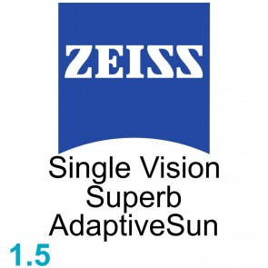 Zeiss Single Vision Superb 1.5 AdaptiveSun