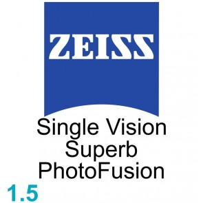 Zeiss Single Vision Superb 1.5 PhotoFusion