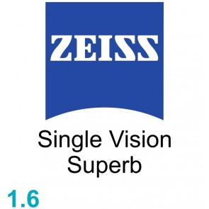 Zeiss Single Vision Superb 1.6