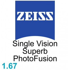 Zeiss Single Vision Superb 1.67 PhotoFusion