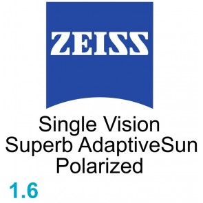 Zeiss Single Vision Superb 1.6 AdaptiveSun Polarized