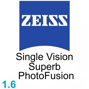 Zeiss Single Vision Superb 1.6 PhotoFusion