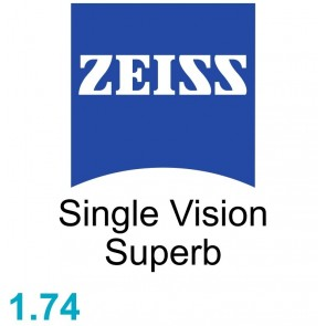 Zeiss Single Vision Superb 1.74