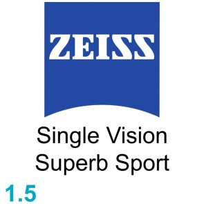 Zeiss Single Vision Superb Sport 1.5