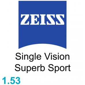 Zeiss Single Vision Superb Sport 1.53