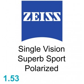 Zeiss Single Vision Superb Sport 1.53 Polarized