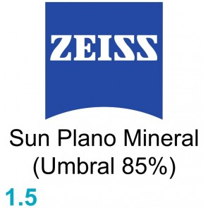 Zeiss Sun Plano Mineral 1.5 (Umbral 85%)